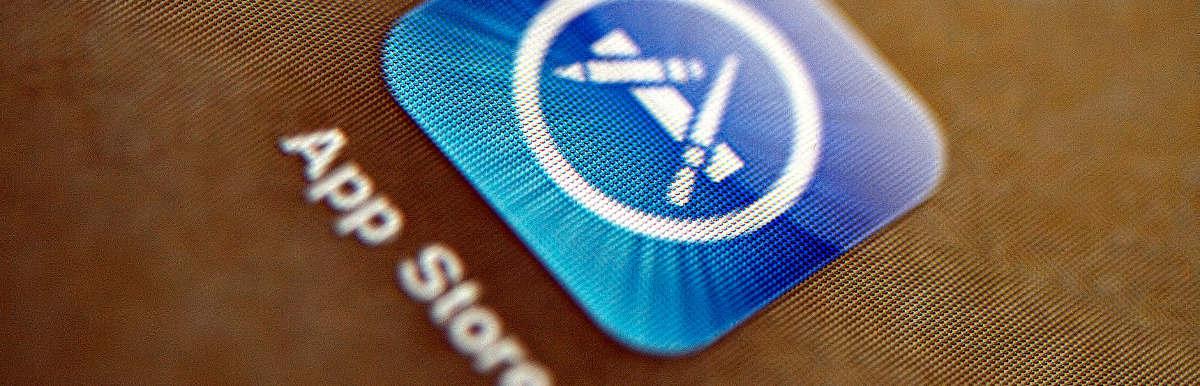 Icono de la App Store de iOS, por PhotoAtelier, en Flickr(5540953795), con licencia CC by