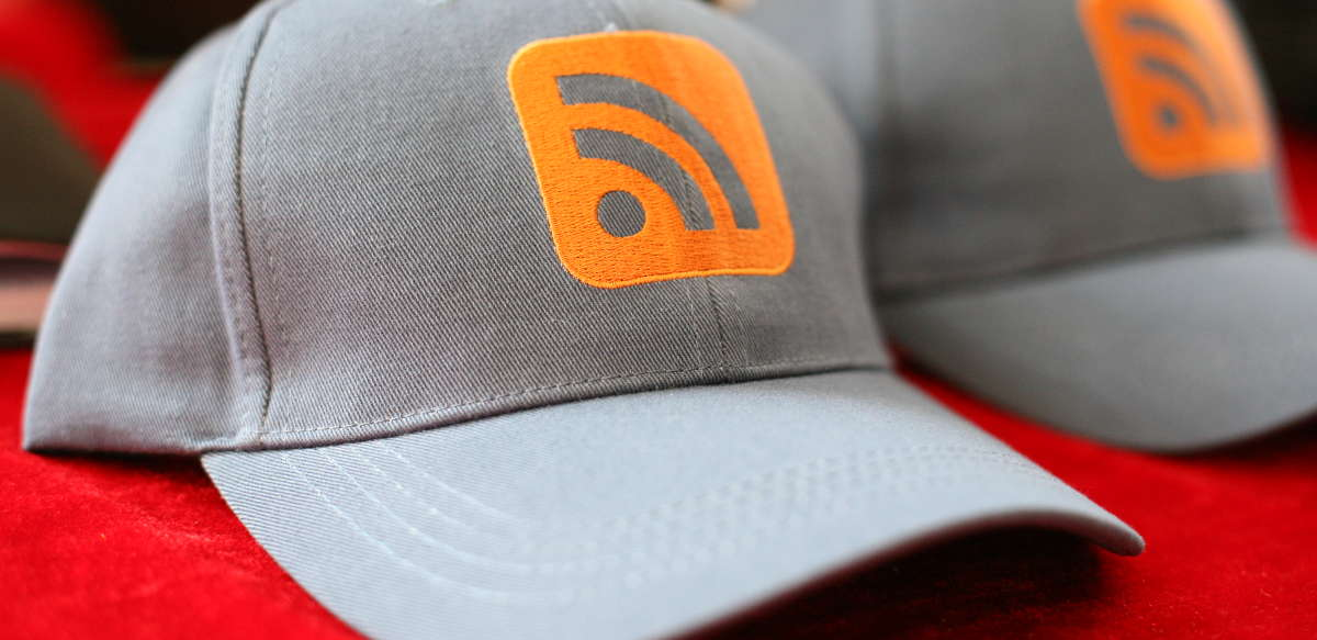 Gorras RSS, por Robert Scoble, en Flickr (3044172251), con licencia CC by
