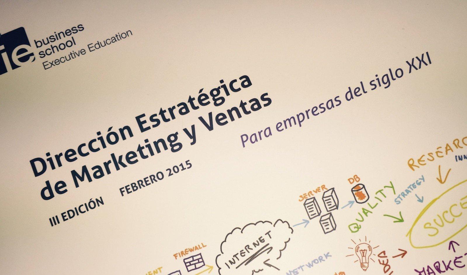 Folleto del Programa Superior en Dirección Estratégica de Marketing y Ventas de IE Business School