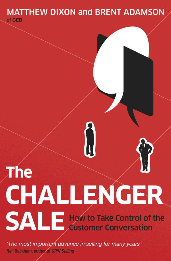 ¿Te has leído ya «The Challenger Sale»?